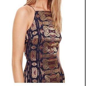 Tory Burch Multicolor Jacquard Dress, Size 14